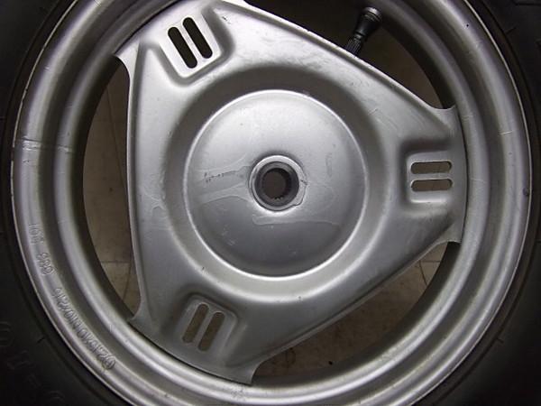 リード50スーパーDX/LEAD リアホイール・タイヤ AF01-1361