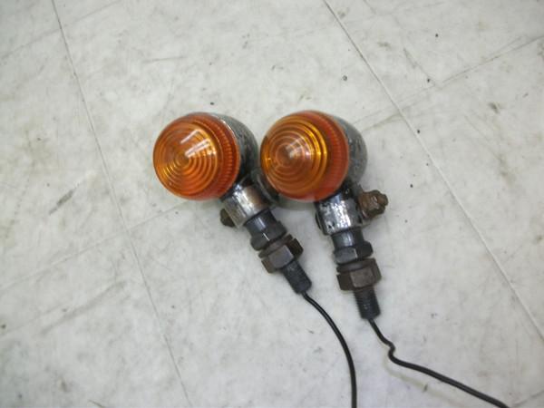 ジェイド250/JADE 社外丸形オレンジ・リアウインカー左右 MC23-1010