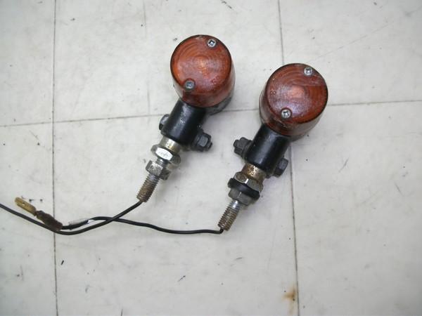 ゴリラ/GORILLA  社外オレンジ丸形リアウインカー左右 Z50J-1375
