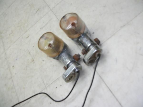 CD50S 社外丸形・クリアフロントウインカー左右 CD50-2301