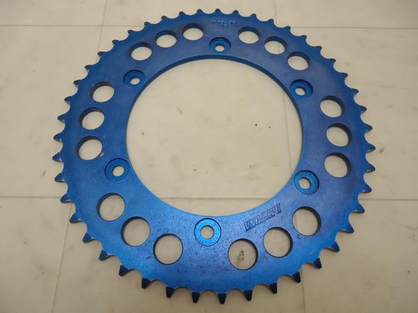 0 デイトナ45丁ブルー/青スプロケット7075S-T6