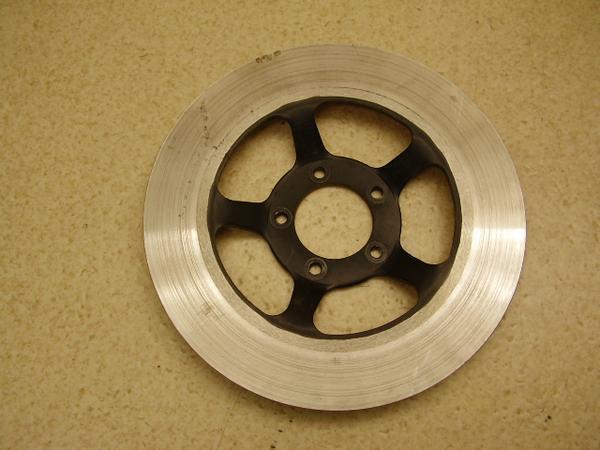 CB650カスタム   フロントディスクローター/フロントブレーキディスク 径275mm・内径58mm。取り付けボルト8mm。取り付けピッチ47mm RC05-