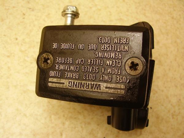 ZZR400   フロントマスターシリンダー/フロントブレーキマスター ZX400K-0122