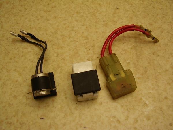 ギア50   リレーセット/電装リレー UA03J-0105