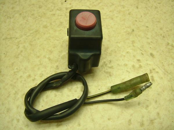 KDX125   キルスイッチ/ハンドルスイッチ右/エンジンオンオフスイッチ DX125A-0071