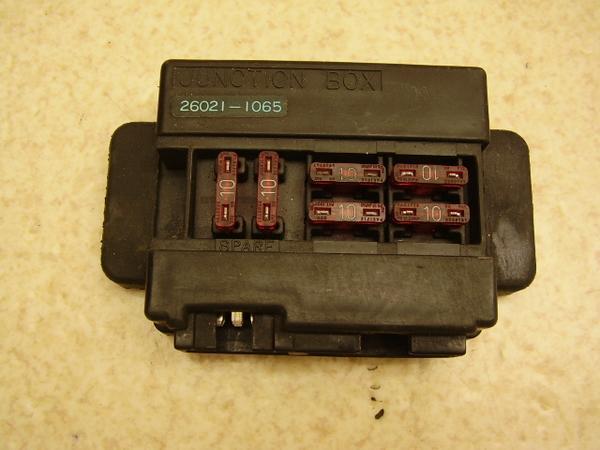 GPX750R   ヒューズボックスBOX/ジャンクションボックス ZX750F-0010