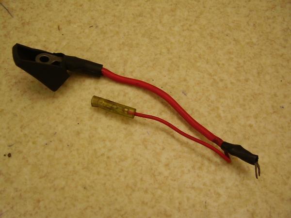 YB125教習車   バッテリーケーブルハーネス A7-3764