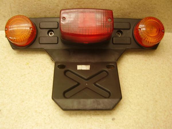ジャイロX50   テールランプ/リアウインカー左右/リアフェンダー TD01-2104