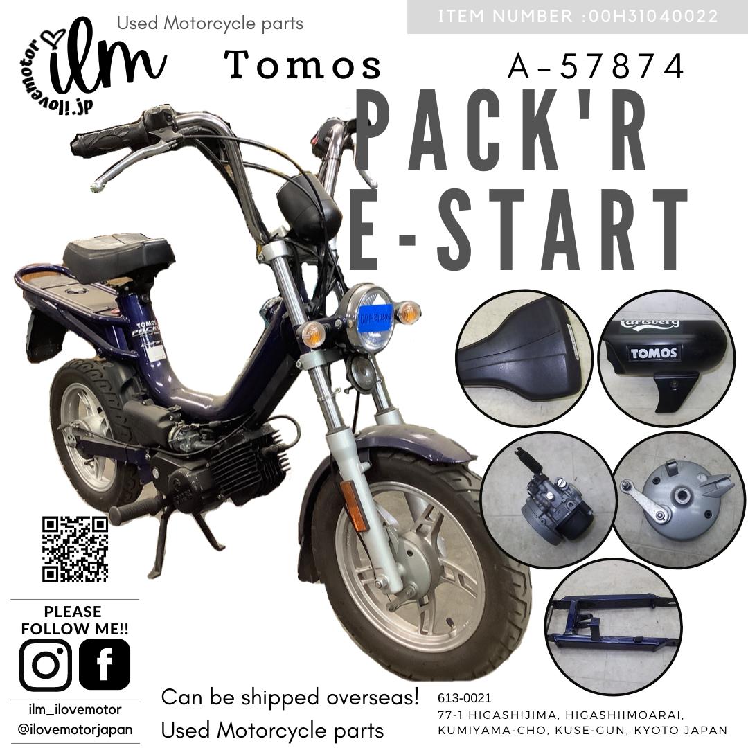トモス/TOMOS/PACK'R E-start/パッカー A-57874 青