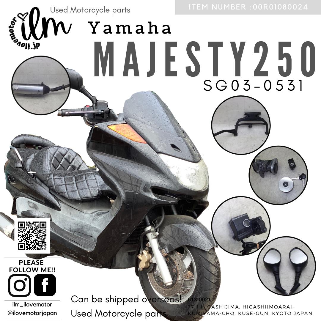 マジェスティ250C/Majesty SG03J-0531 黒