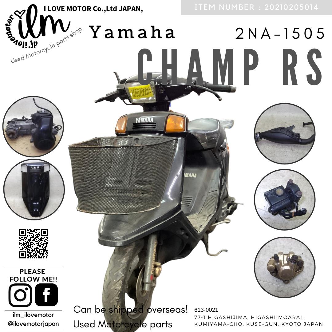 チャンプRS/  CHAMPRS  黒  2NA-1505